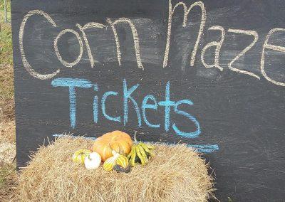 corn maze tickets